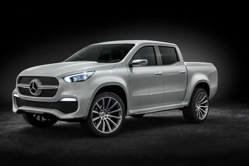 2020 Mercedes-Benz Pickup Truck front