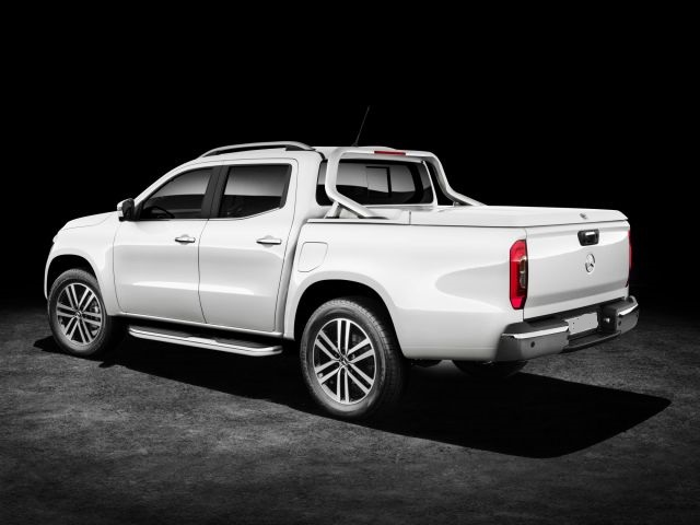 2020 Mercedes-Benz Pickup Truck rear
