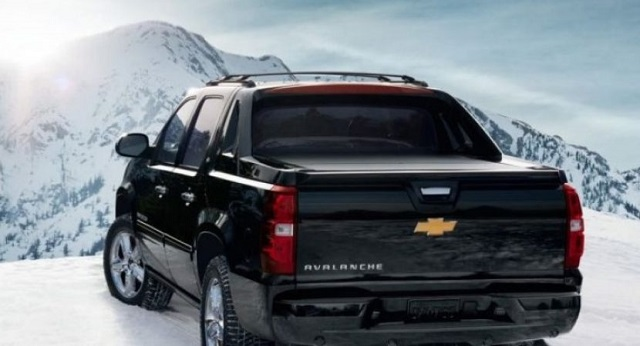 2020 Chevrolet Avalanche rear view