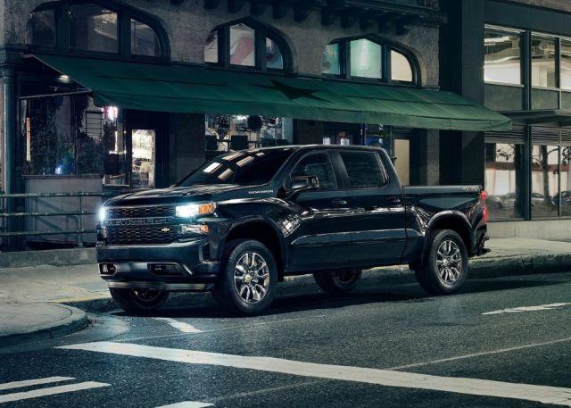 2020 Chevy Silverado HD front