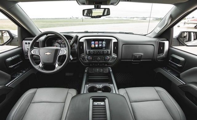 2020 Chevy Silverado HD interior
