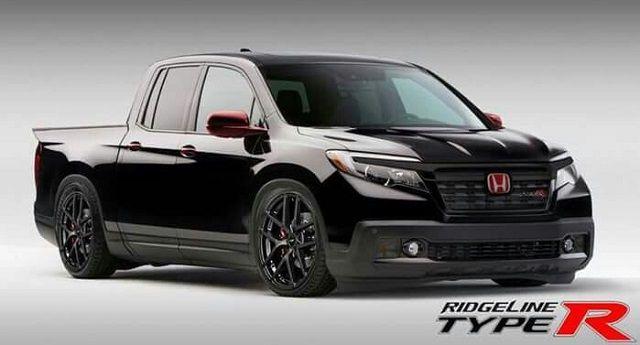 2020 Honda Ridgeline Type R front