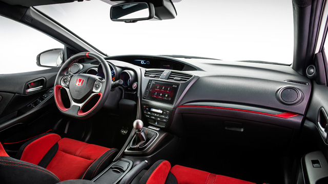 2020 Honda Ridgeline Type R interior look