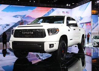 2020 Toyota Tundra TRD Pro front