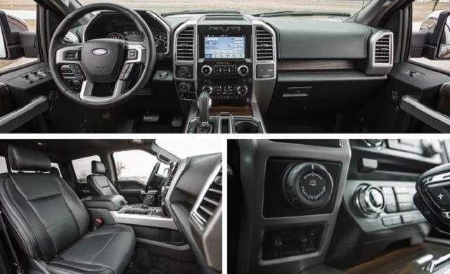 2020 Ford F-150 Lightning interior