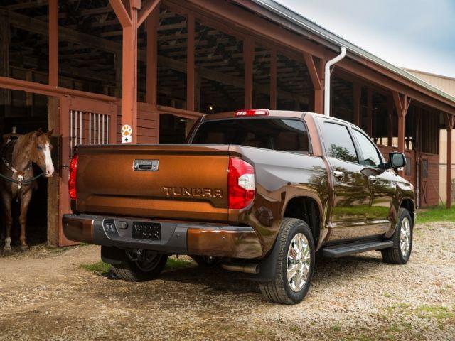 2020 Toyota Tundra Diesel rear