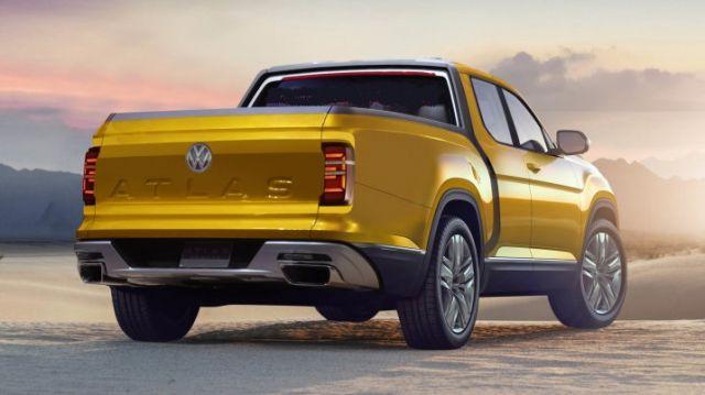 2020 VW Atlas rear