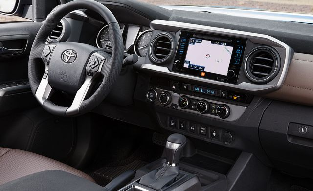 2020 Toyota Tacoma TRD Pro interior