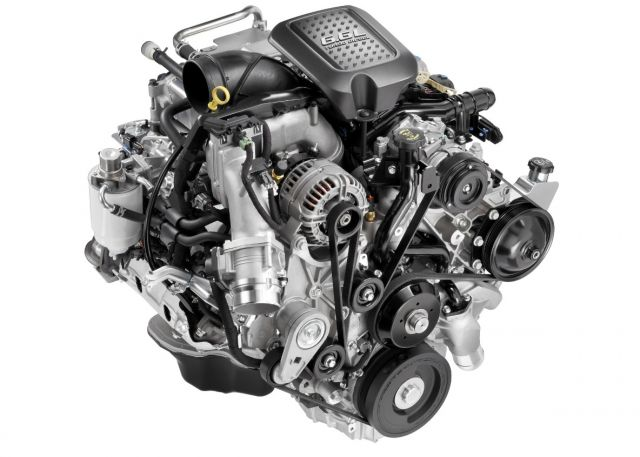 2020 Chevy Silverado 2500HD High Country engine