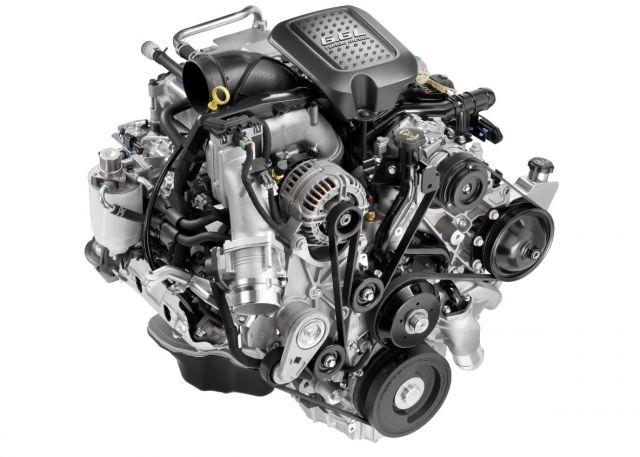 2020 Chevy Silverado 2500HD High Country engine