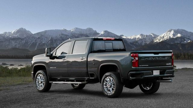 2020 Chevy Silverado 2500HD High Country rear