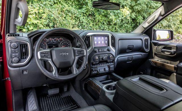 2020 Chevy Silverado 1500 RST interior