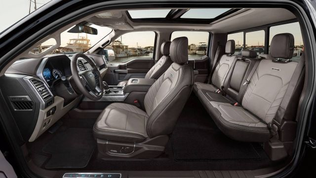 2020 Ford F-150 seats