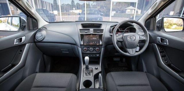 2020 Mazda BT-50 interior