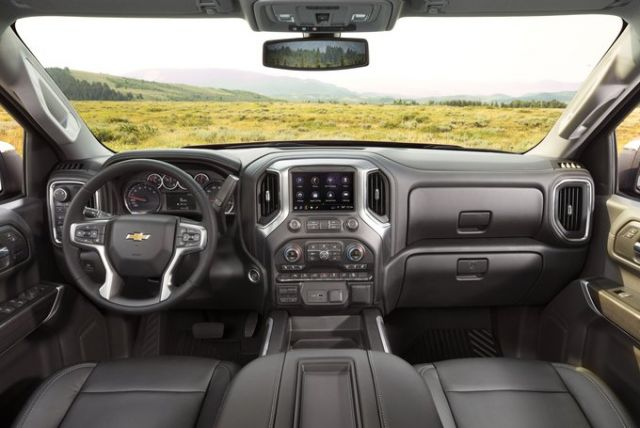 2020 Chevy Silverado 1500 interior