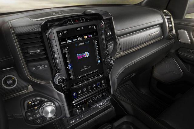 2020 Ram 1500 Diesel interior