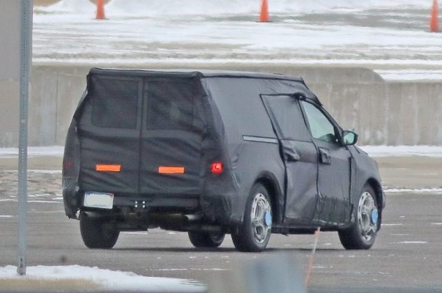 2021 Ford Courier rear view