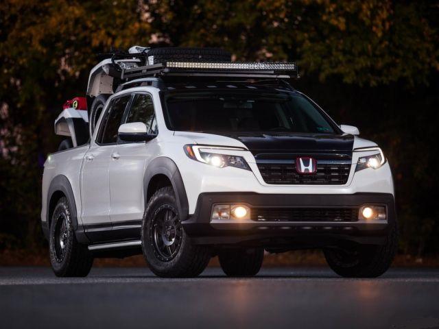 2021 Honda Ridgeline front