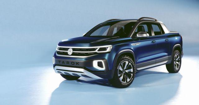2020 Volkswagen Tarok Rides On The Same MQB Platform As The Tanoak Pickup