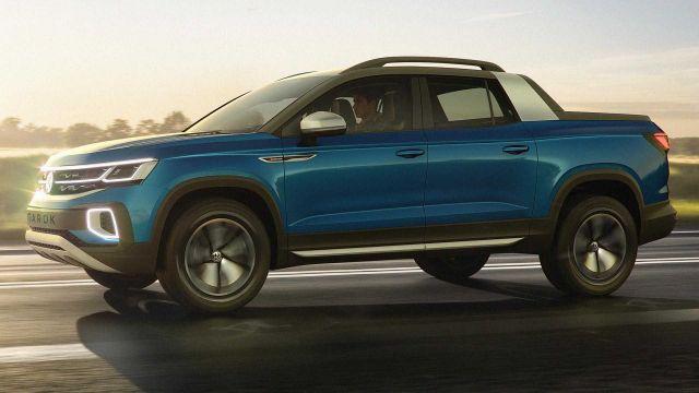 2020 Volkswagen Tarok side