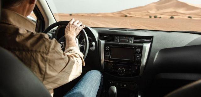 2021 Nissan Navara interior look