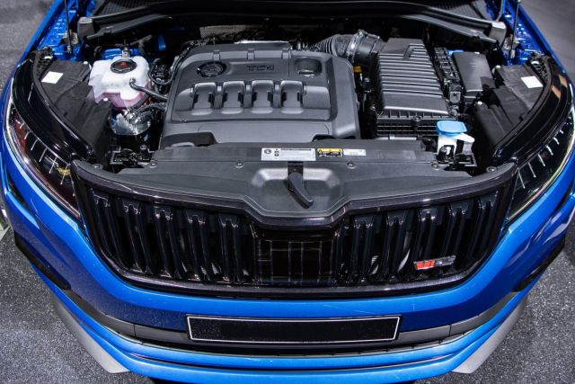 Skoda Kodiaq Pickup RS engine