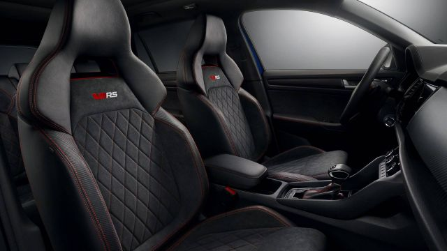 Skoda Kodiaq Pickup RS seats