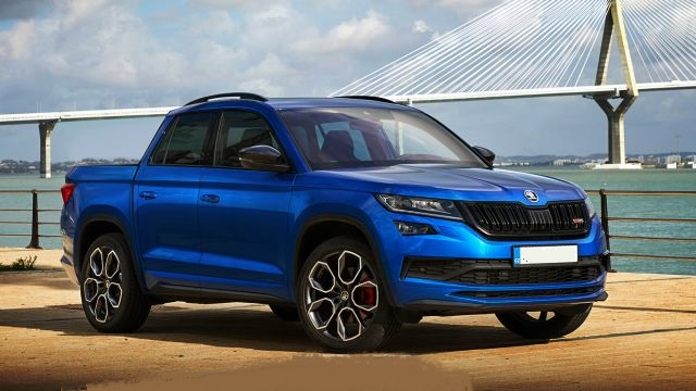 Skoda Kodiaq Pickup and RS Variant Could Soon Become Reality