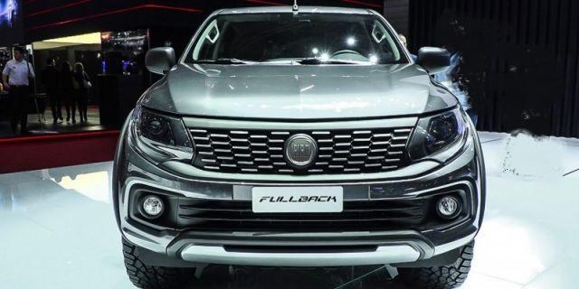 2020 Fiat Fullback Cross front
