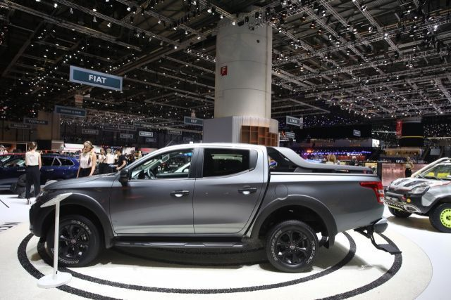 2020 Fiat Fullback Cross side