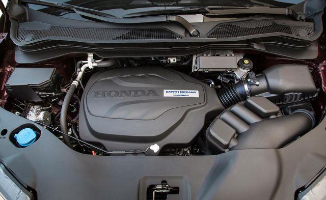 2020 Honda Ridgeline Black Edition engine