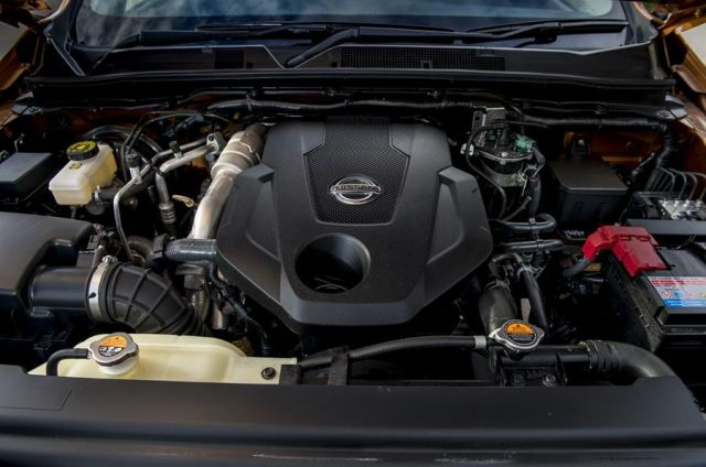 2020 Nissan Frontier Diesel engine