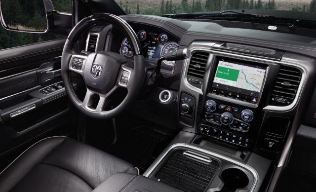 2020 Ram 4500 interior