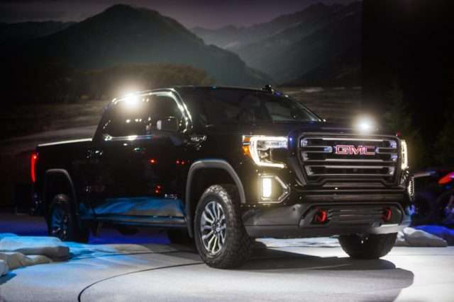 2020 GMC Canyon AT4 front