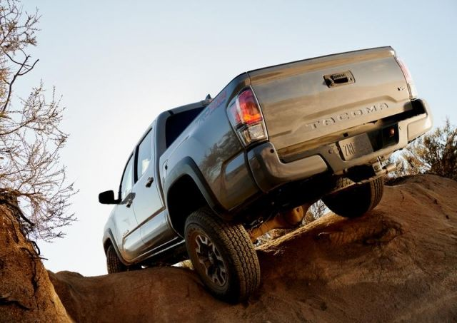 2020 Toyota Tacoma TRD Off Road rear