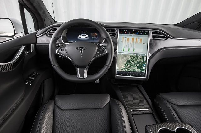 2020 Tesla Pickup Truck interior
