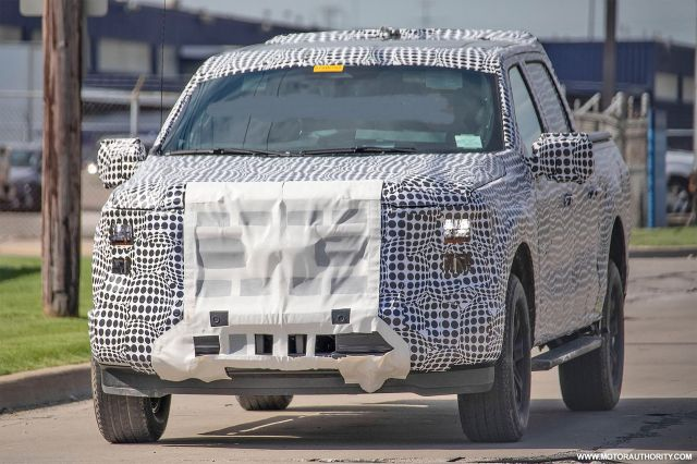 2021 Ford F-150 Spied Testing, Release Date