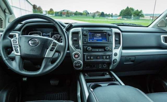 2020 Nissan Titan Pro 4x interior