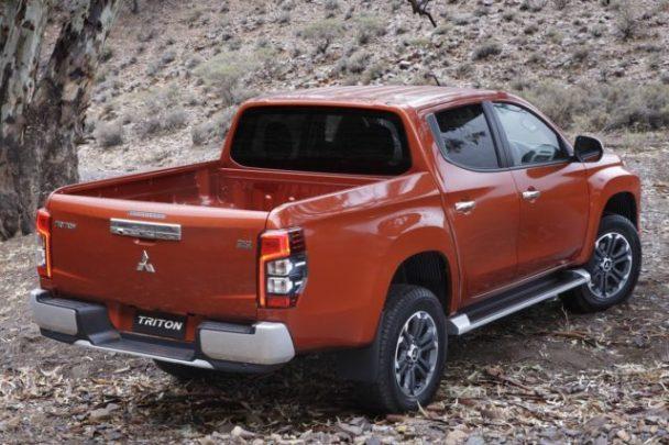 2021 Mitsubishi Triton rear