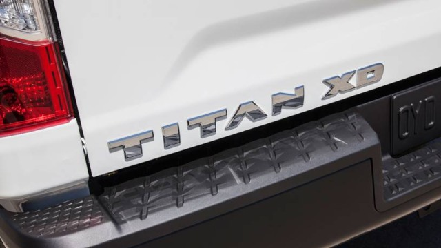 2021 Nissan Titan XD rear