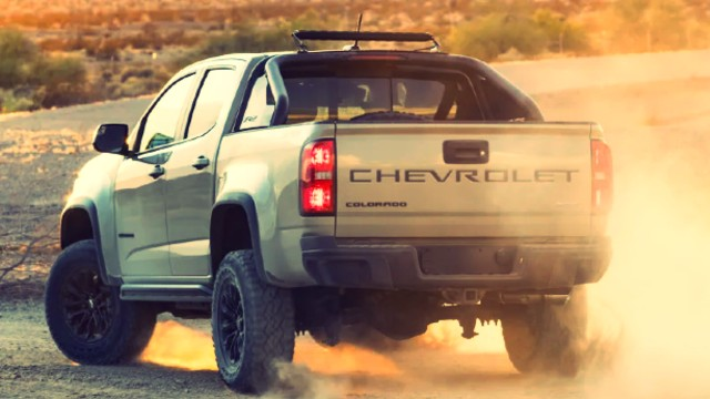 2021 Chevrolet Colorado ZR2 Showed It's New Face