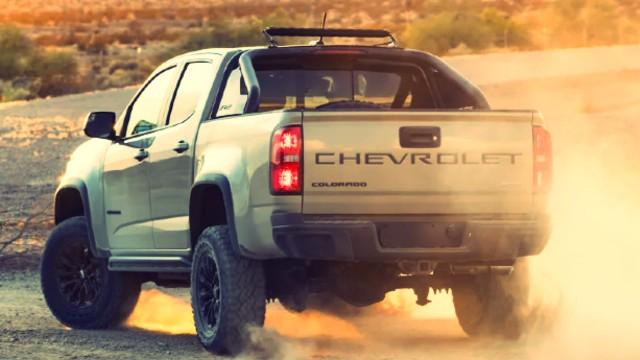 2021 Chevrolet Colorado ZR2 tailgate