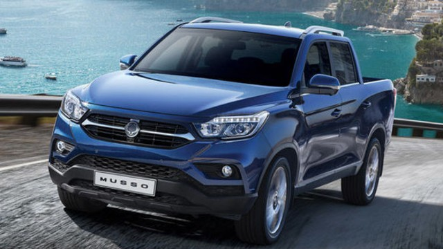 2021 SsangYong Musso facelift