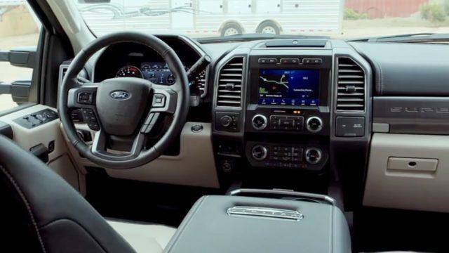 2021 Ford F-350 interior