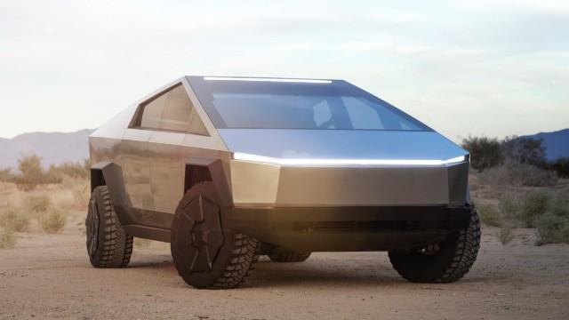 2021 Tesla Cybertruck exterior