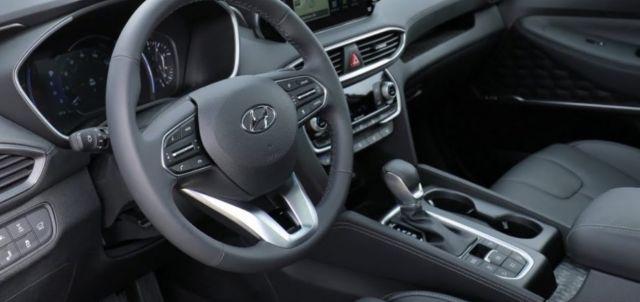 2022 Hyundai Santa Cruz interior look