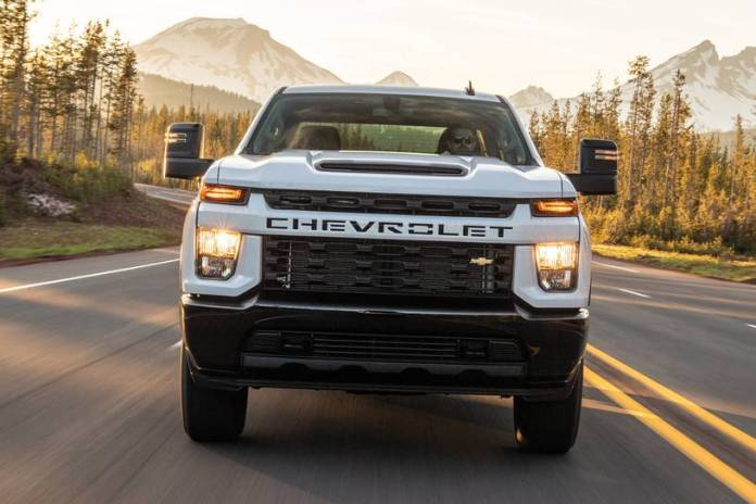 2021 Chevy Silverado 2500HD Will Get More Tech This Time