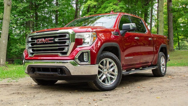 2021 GMC Sierra 1500 facelift