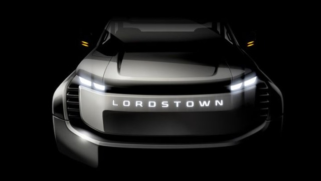 2021 Lordstown Endurance grille