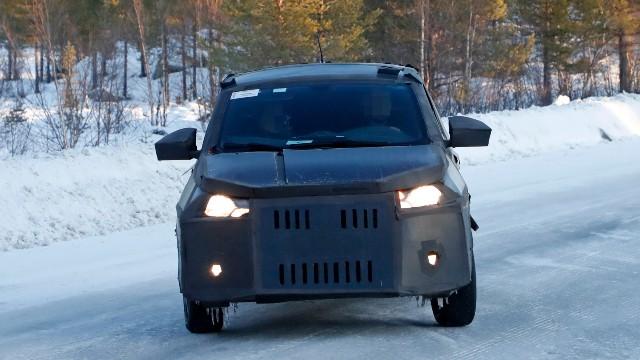 2021 Fiat Mobi Pickup spy shots